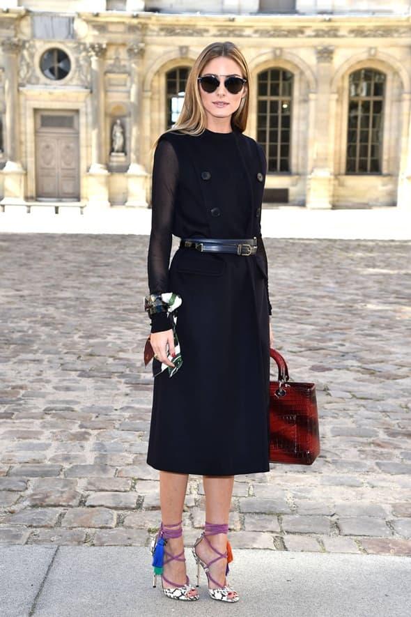Olivia Palermo na Dior reviji (foto: harpersbaazar)