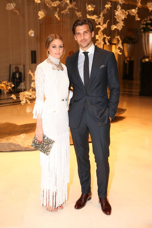 Olivia Palermo sa mužem (foto: harpersbaazar)