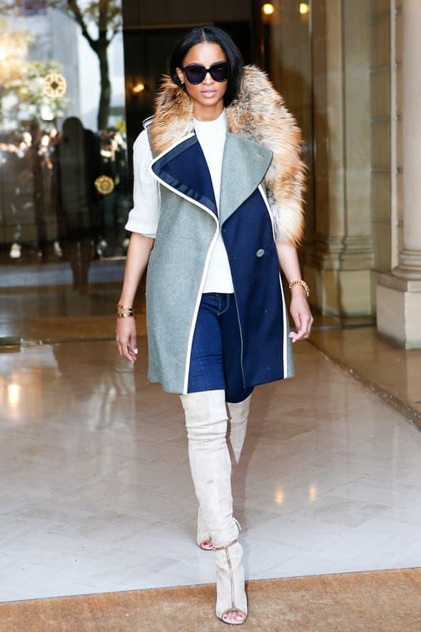 Rnb zvezda Ciara (foto: elle)