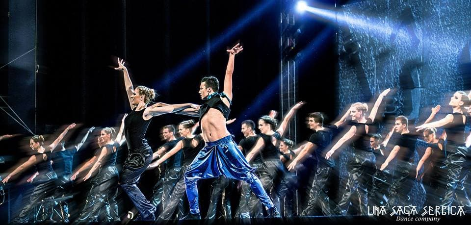 Plesno udruženje 'Una Saga Serbica' (foto: Facebook)