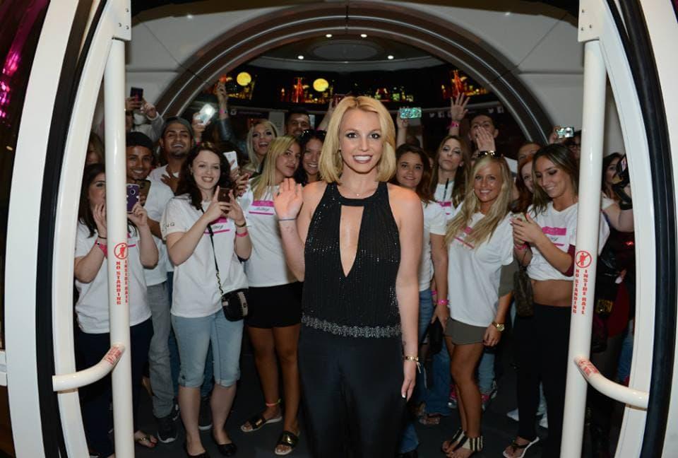 Britney je blistala na proslavi. (foto: Instagram)