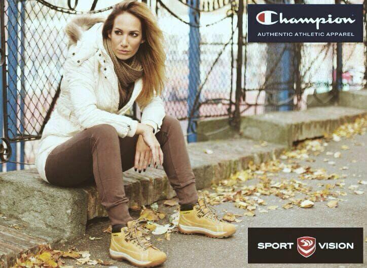 """Mišićeva je zaštitno lice sportske marke """"Champion"""" (foto: Facebook)"""