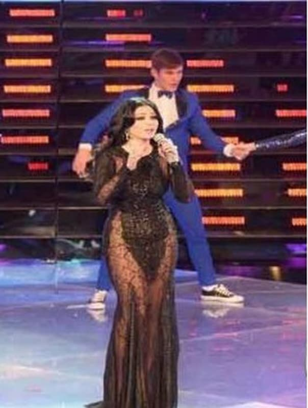 Haifa u providnoj haljini (foto: printscreen)