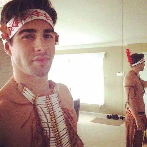 Drew Hudson kao indijanac