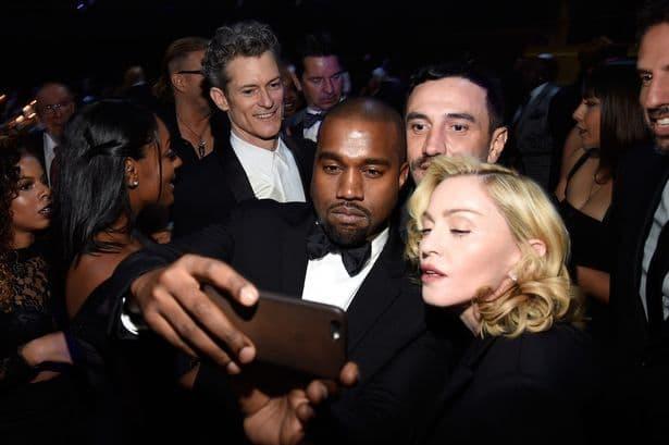 Prvi selfie Madonne i Westa! (foto: Mirror)