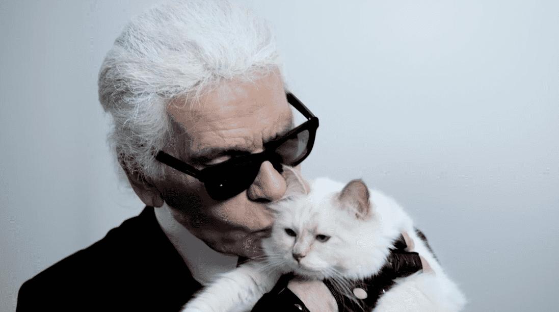 Karl sa svojom mačkom Choupette (foto: Instagram)
