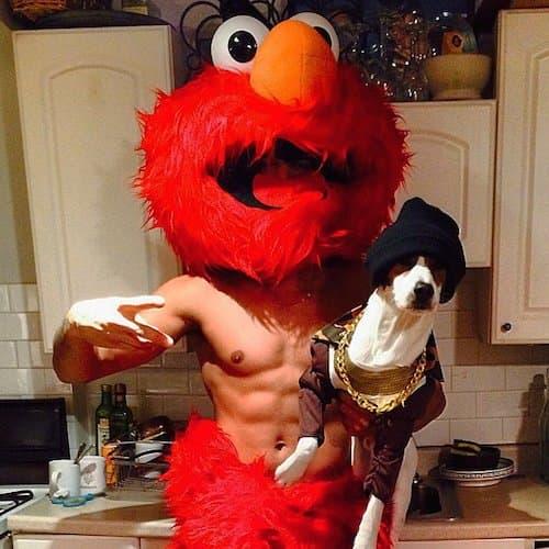Landon Falgoust kao (seksi) Elmo
