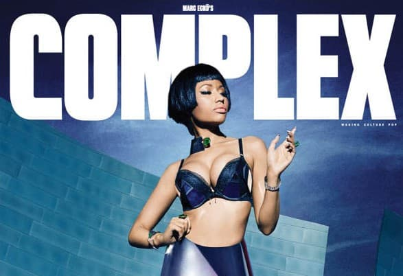 Naslovna strana Complex magazina za decembar/januar (foto: Complex)