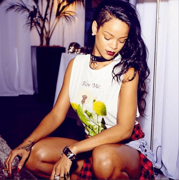 Nakon šest meseci, Rihanna je opet aktivna na ovoj društvenoj mreži. (foto: Instagram)