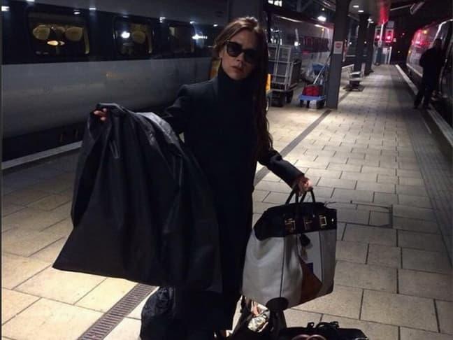 Victoria je putovala vozom (foto: Instagram)