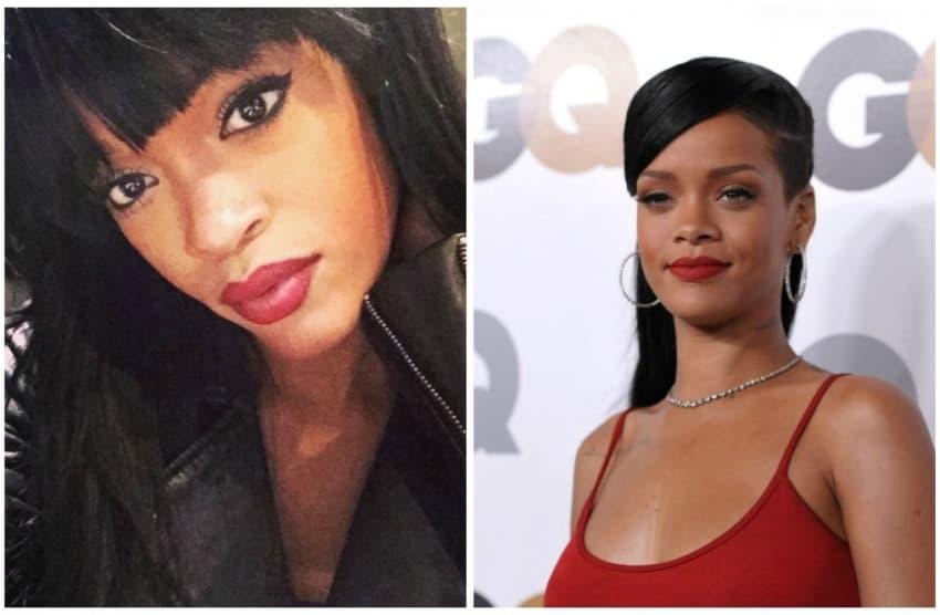 Andel i Rihanna (foto: Kurir)