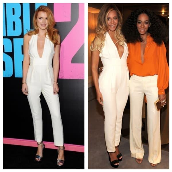 Bella VS Beyonce (foto: fashionbomb)