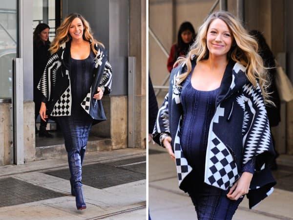 Diktira modne trendove i u trudnoći! ( foto: CeleBuzz)