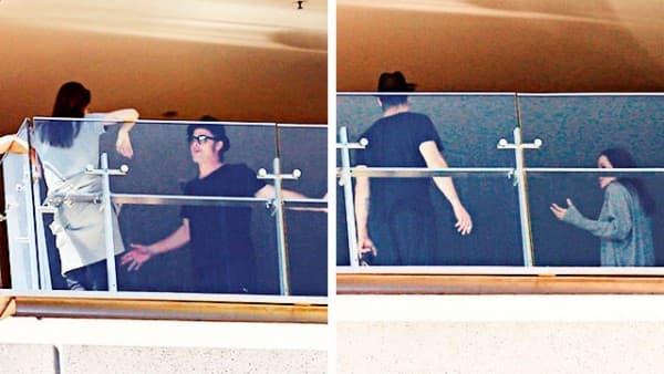 Brad i Angie posvađali su se na balkonu svoje hotelske sobe (foto: womansday)