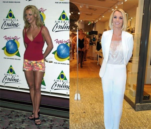 Britney 2001. i danas ( foto: Posh 24 )