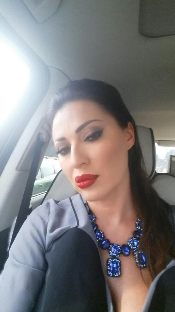 Ceca se na Twitteru pohvalila make-upom (foto: Twitter)