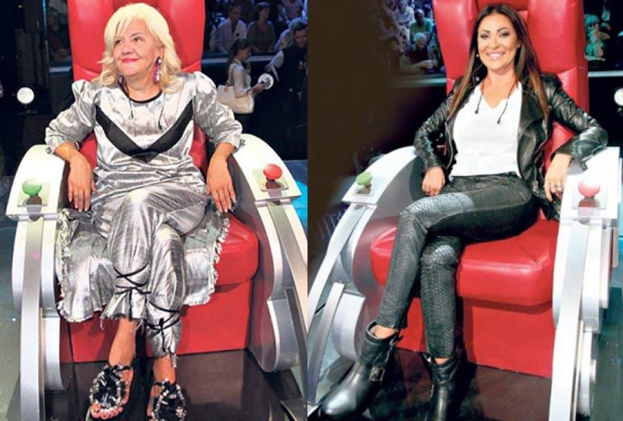 "Marina i Ceca su sudije u šou ""Pinkove zvezde"" (foto: Facebook)"