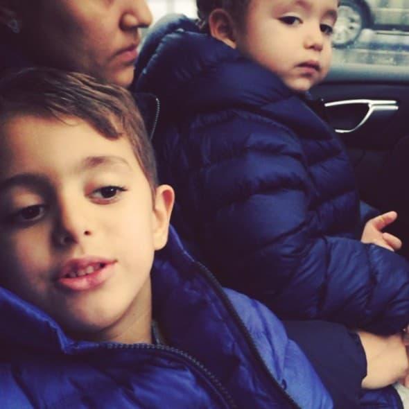Stariji sin već zna sva slova (foto: instagram)