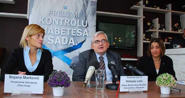 Bojana Marković, dr Nebojša Lalić i Stela Prgomelja