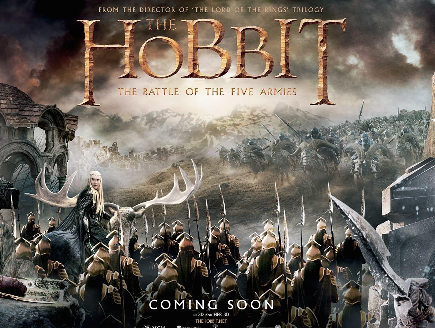 """Jedan od plakata za film 'Hobbit: Battle Of Five Armies"""" (foto: Facebook)"""