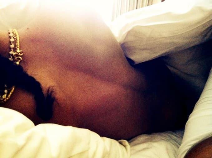 Fotografija nastala u krevetu! (foto: instagram)