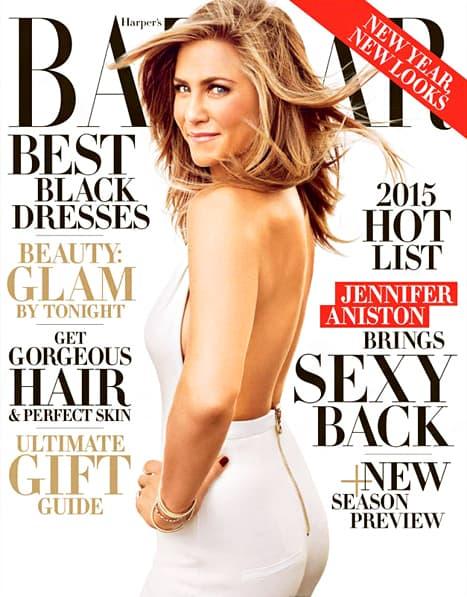 Anistonova se nalazi na naslovnoj strani novog izdanja Harper's Bazaara. (foto: HP)