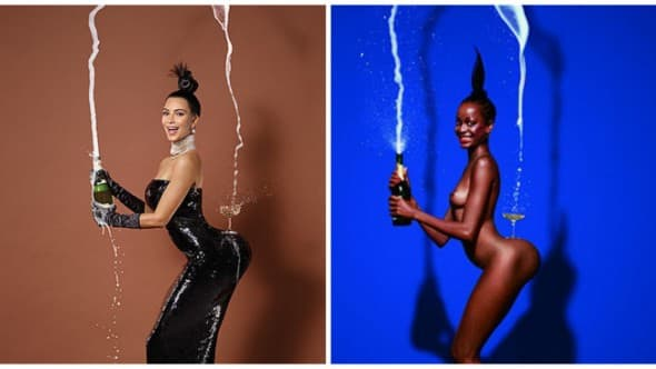 Nova i stara fotografija su, zapravo, rasističke šale ( foto: The Grio )