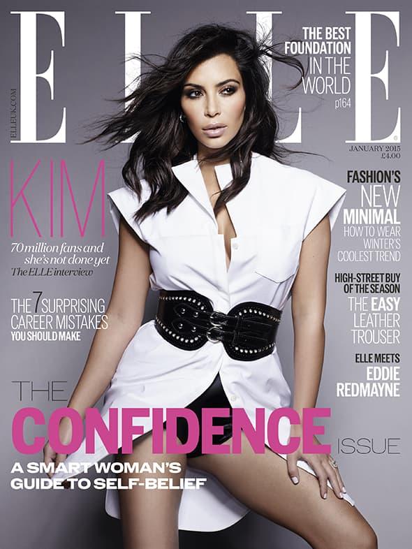 U potpuno drugačijem izdanju za Elle nego za Paper magazin ( foto: Elle )