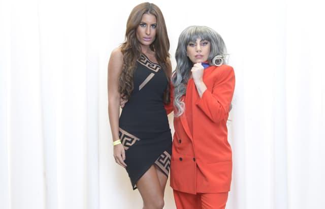 Dijana i Gaga u zagrljaju!