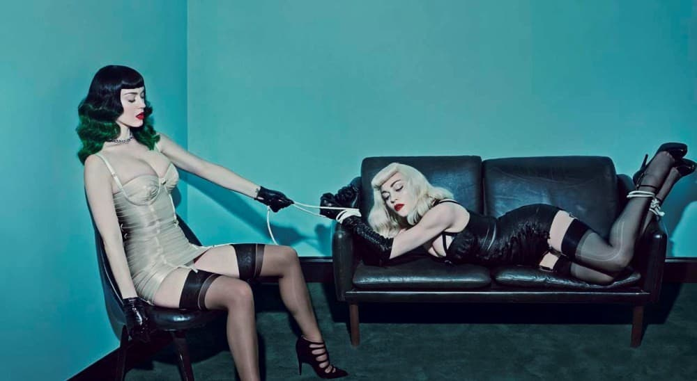 Katy bi se na sceni mogla pridružiti Madonna (foto: V magazine)