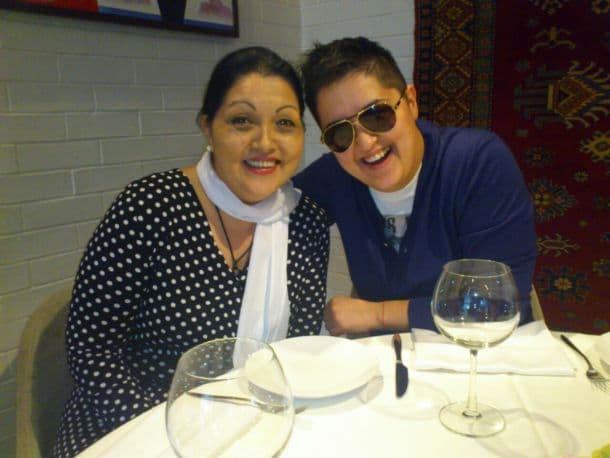Majka i ćerka danas su u odličnim odnosima! (foto: Facebook)