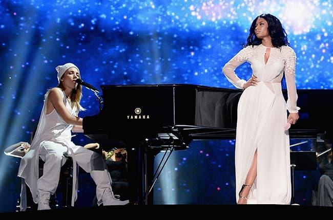 Nicki Minaj i Skylar Grey (foto: Billboard)