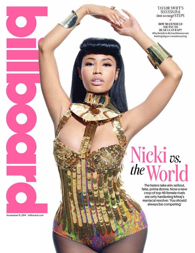 Nicki protiv ostatka sveta! (foto: Billboard)