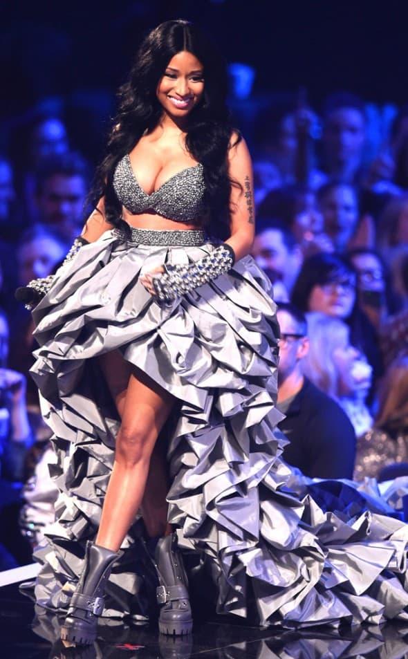 Vodila dodela, nastupala, dobila nagradu: Nicki Minaj (Ian Gavan/MTV 2014/Getty Images for MTV)