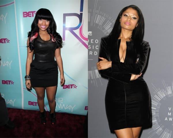 Nicki Minaj pre 4 godine i sad ( foto: Posh 24 )