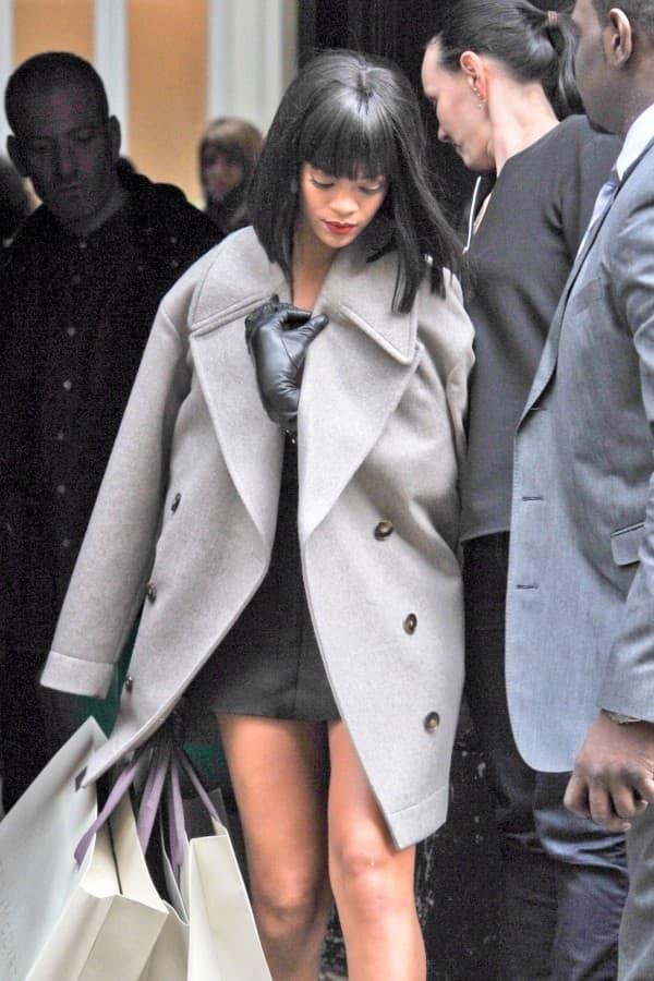 Rihanna picks up her Stella McCartney Essentials **USA ONLY**
