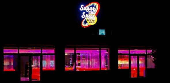 Koncept pametne hrane i zabave - Sugar and Spice