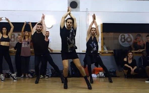 Svi su oduševljeni njihovim koreografijama foto: printscreen