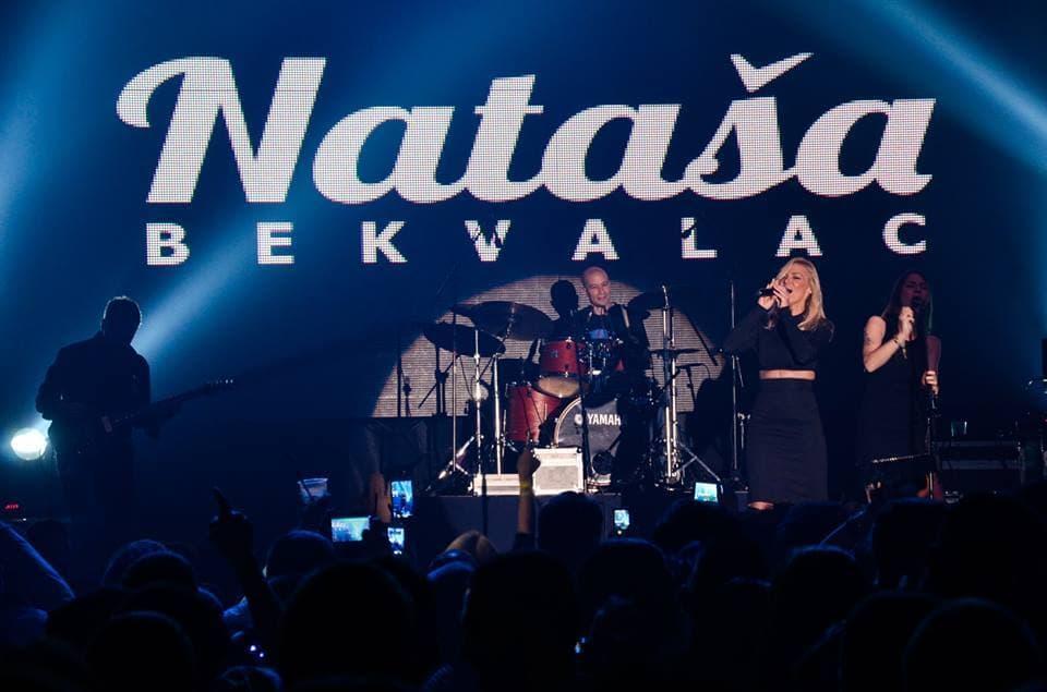 Nataša je zapalila sa nastupom na Ski Opening Festu (foto: Facebook)