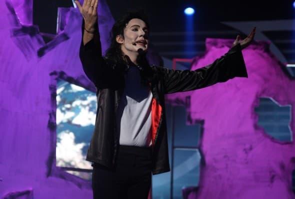 Bane Mojicevic kao Michael Jackson