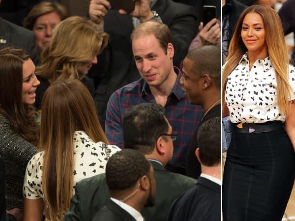 Beyonce u društvu kraljevske porodice ( foto: Celebuzz )