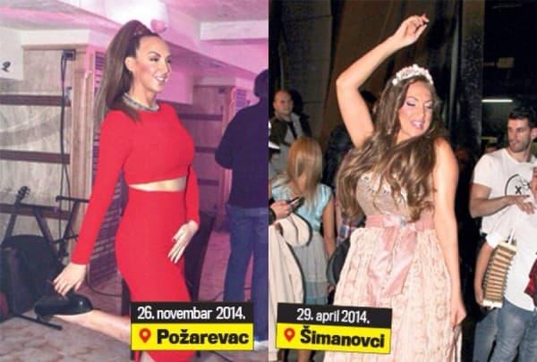 Posle i pre ( foto: Oficijelni Facebook profil Goge Sekulić )