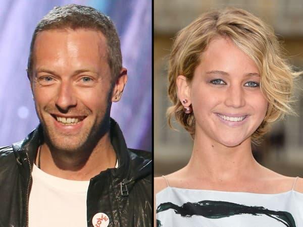 Jennifer Lawrence i Chris Martin ( foto: People )
