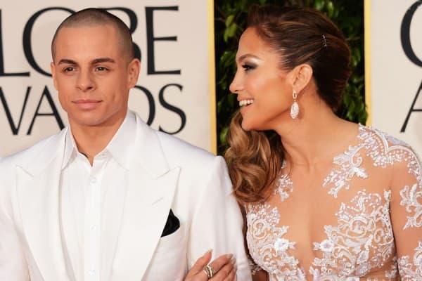 Jennifer Lopez i Casper Smart ( foto: Ryan Seacrest )