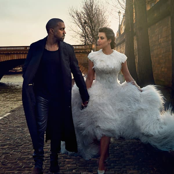Kanye West i Kim Kardashian ( foto: Sonic Nation )