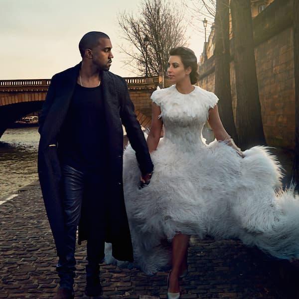 Kanye West i Kim Kardashian ( foto: Sonic Nation )