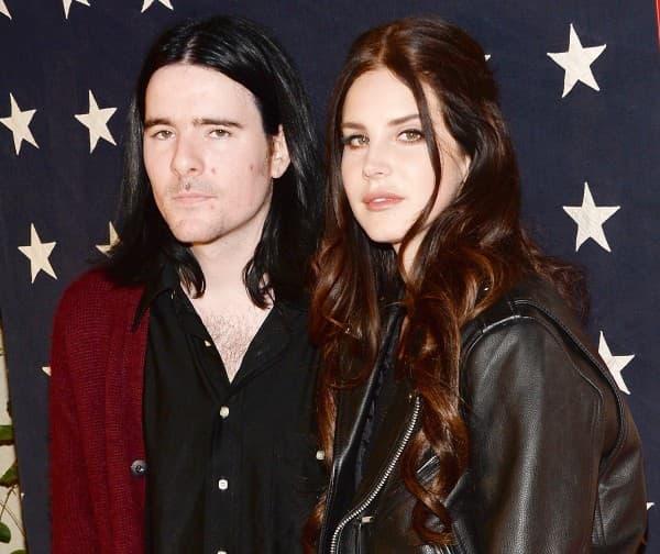 Lana Del Rey i Barrie-James O'Neill ( foto: US Magazine )