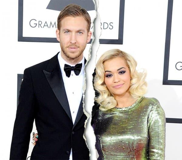Rita Ora and Calvin Harris ( foto: US Magazine )