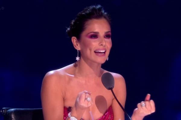 Cheryl je svojim make-upom iznenadila gledaoce (foto: ITV)
