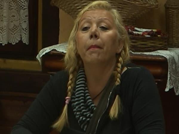 Zorica Marković bila je najupečatljiviji lik na Farmi (foto: printscreen)